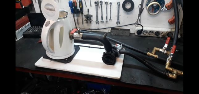 Промывка чистка радиатора печки без снятия панели