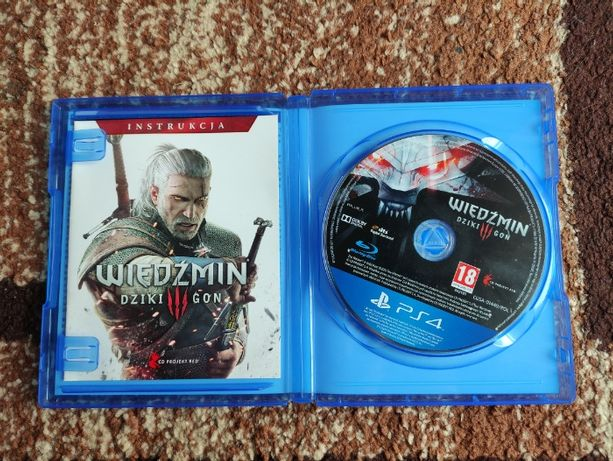 PS4 Wiedźmin 3 Dziki Gon PL na konsolę PlayStation 4 polska wersja