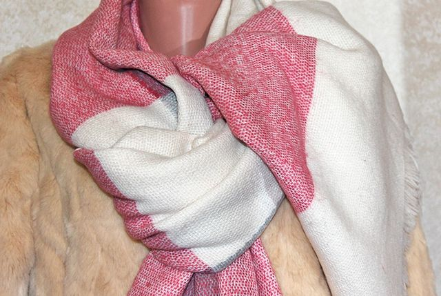 Теплый большой шарф Primark размер 180х70 см