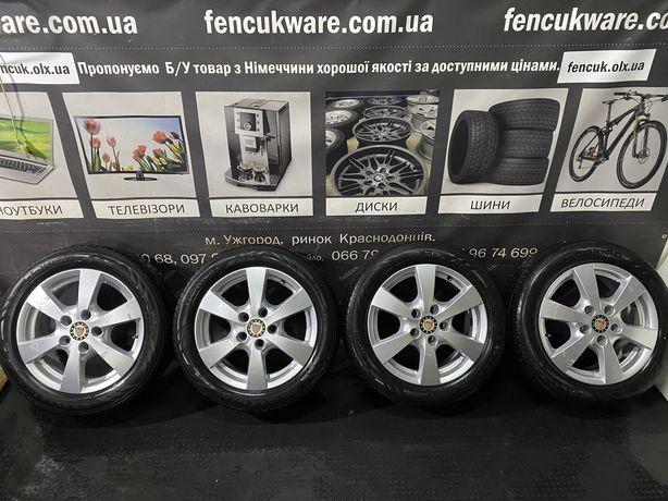 Диски і Шини 16R 5x112 7J Audi Skoda Seat VW