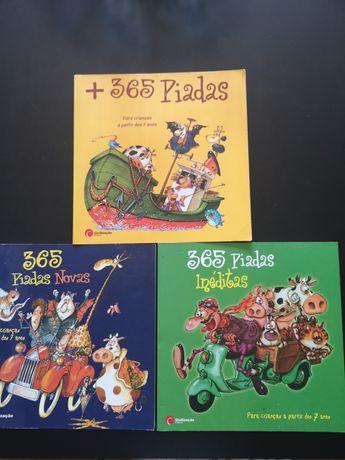 """Livros colecção """"365 Piadas"""""""