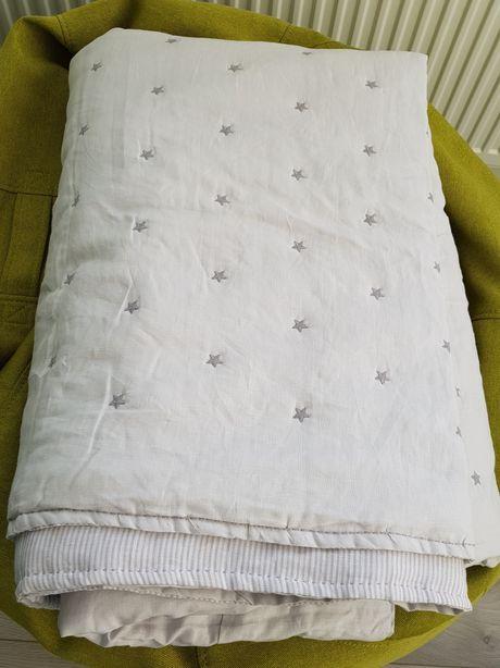 ZARA HOME Одеяло покрывало льняное 160×250 см. Новое!