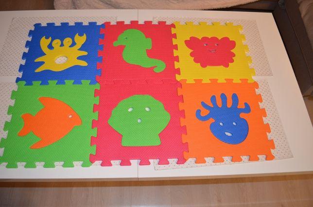 Piankowe puzzle dla dzieci