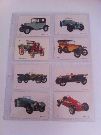 Calendários - Carros Antigos, 1988/1989