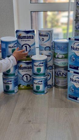 Детская смесь : НЕННІ класична 800 Г,Humana,Nutrilon,Nutrilon premium