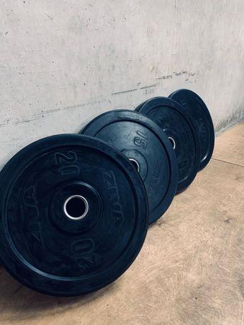 Bumpers Discos Musculação Ziva - crossfit ginásio
