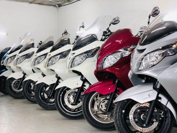 Макси скутера в КРЕДИТ Suzuki Skywave прямые поставки из Японии