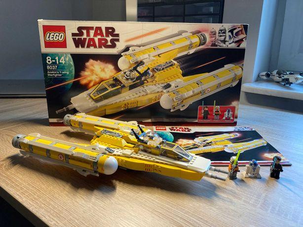 Lego Star Wars 8037 (Anakin`s Y-wing Starfighter)