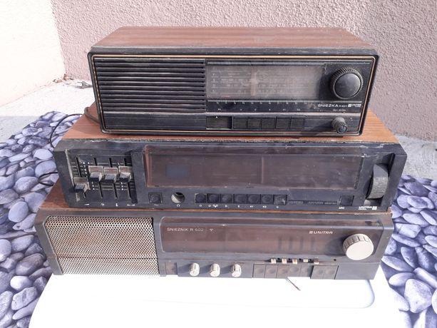 Stare-zabytkowe radia Unitra