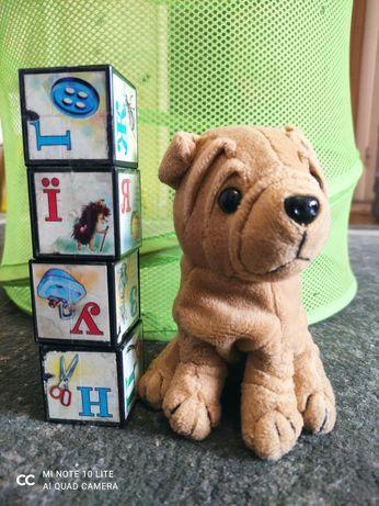 М'яка іграшка собачка і ведмедик
