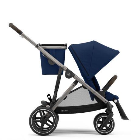 Cyex Gazelle S -wózek spacerowy BĘDZIN srebrna rama