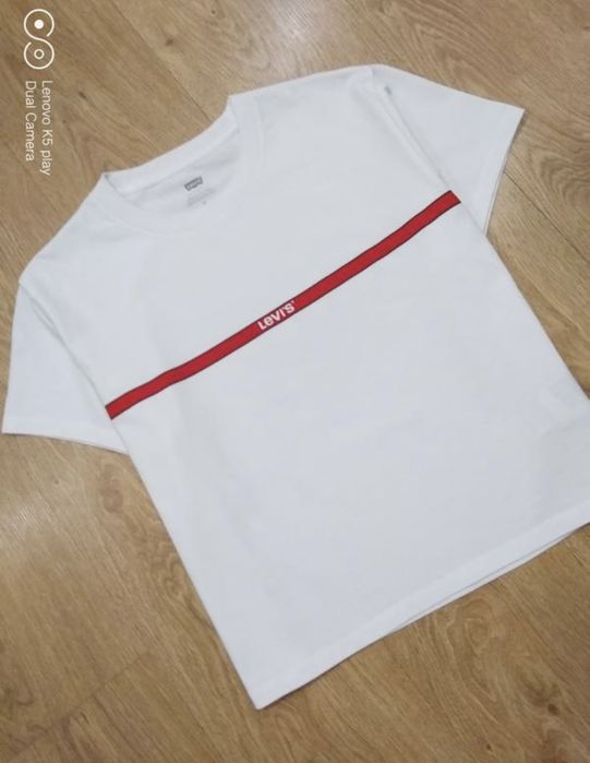 Levis'e футболка М оригинал женская белая Днепровка - изображение 1