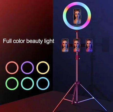 20/26/33/36/45 см RGB кольцевая лампа. Отличный подарок для девушки