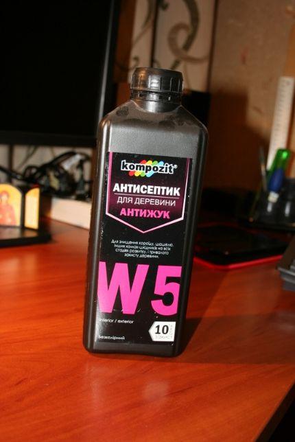 Продам Антисептик «АНТИЖУК» W5 в бутылке ~ 800 грамм