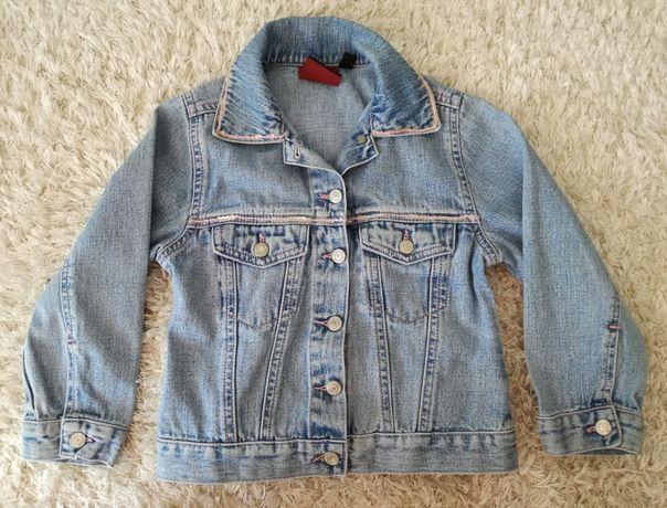 Kurtka jeansowa, katana dla dziewczynki, rozmiar 104, 3-4 lata