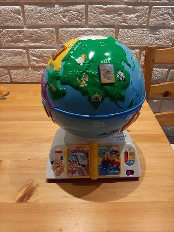 Interaktywny globus odkrywcy Fisher Price
