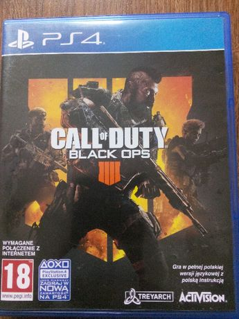 Call Of Duty Black Ops 4 PS4 PL