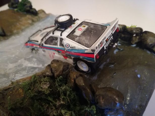 lancia 037 1/43 diorama