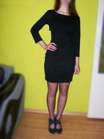 Sukienka S-M - nietypowy tył