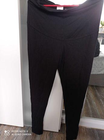 Długie legginsy ciążowe r. M