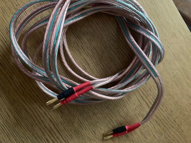 Kable do głosnikow Scan Cable Blues 2x 4.2 mm