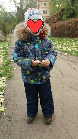 Зимний костюм. Комбинезон. Куртка,штаны, шапка