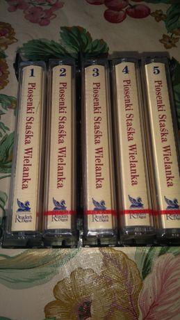 Zestaw kaset magnetofonowych STASKA WIELANKA 5szt.