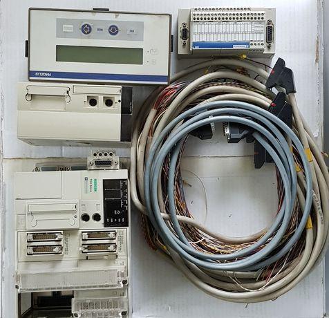 Sterownik MODICON TSX Micro + TSXP57203M + PANEL XBT H011010