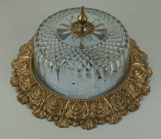Piękna bogato zdobiona plafoniera z Włoch