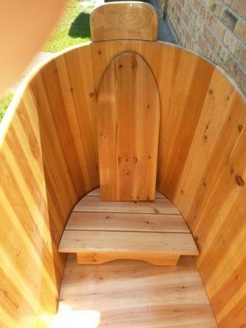 Ванна деревянная