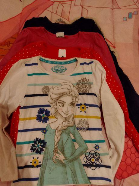 Conjunto de cinco camisolas