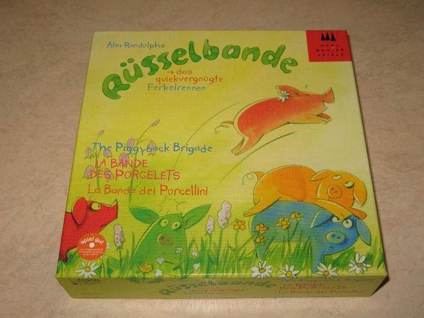 Детская настольная игра Банда Пятачок Russelbande от Drei Magier