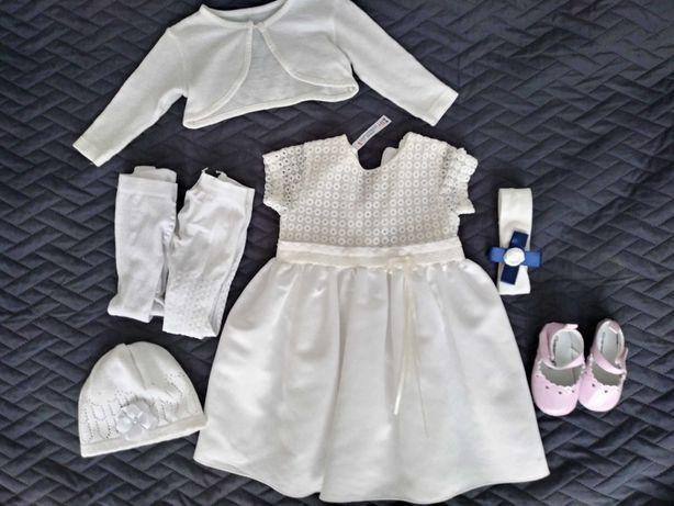 Sukienka do Chrztu dla dziewczynki 74