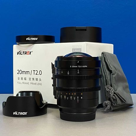 Viltrox S 20mm T2.0 ASPH ED RF (Sony FE) - NOVA