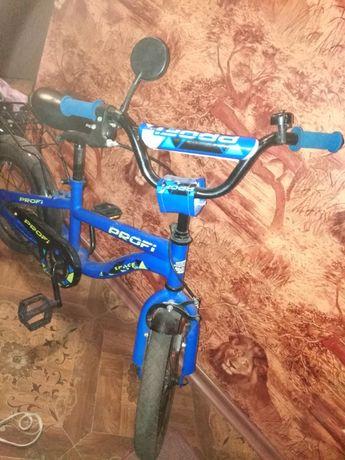 Подам детский двухколёсный велосипед Profi Space 14 дюймов.