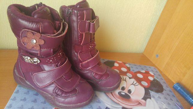 Зимние ботинки ботиночки зима черевики для девочки