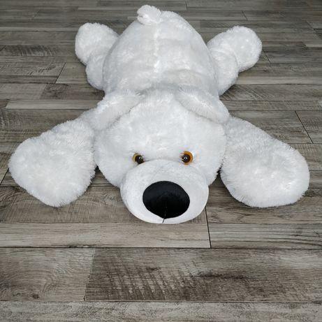 Метровый плюшевый медведь/ белый мишка