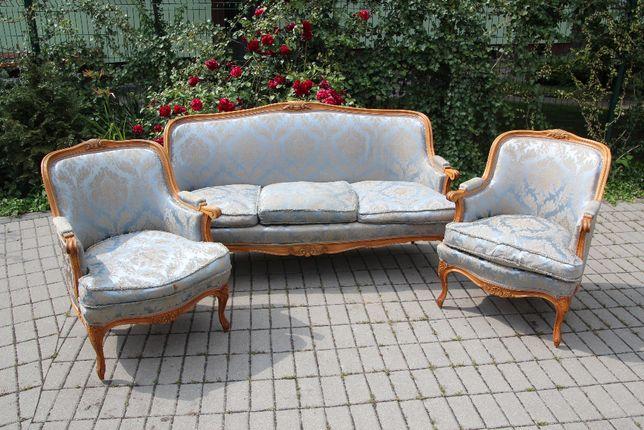 sofa dwa fotele Ludwik SUPER CENA