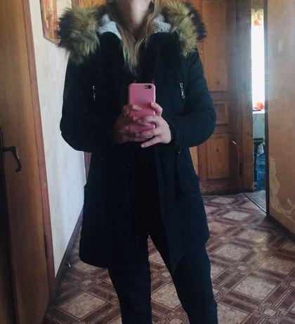 Продам зимнюю парку на овчине