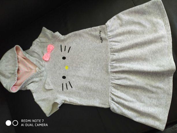 Sukienka dla dziewczynki Hello Kitty, 122/128 cm