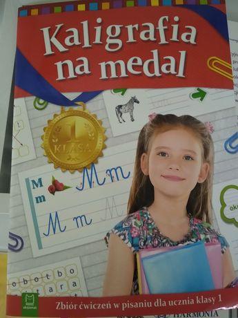 Kaligrafia na medal ćw. dla klasy I