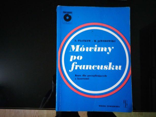 Książka i kasety do nauki języka francuskiego