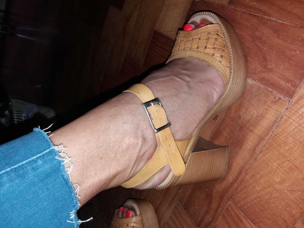 Sandálias Marila amarelas (Oferta dos portes)