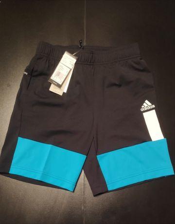 Adidas spodenki chłopięce rozmiar 152,164