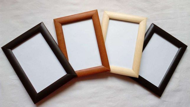 Фоторамки деревянные, рамки из деревянного профиля