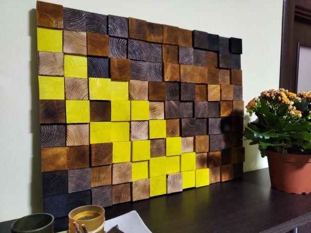 Панно з дерева, еко стиль, дизайн, ручна робота | woodlikelove