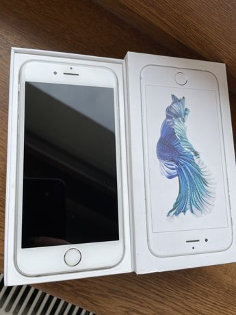 Apple IPhone 6s 64 GB silver/srebrny bez locka sprawny 100%