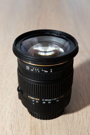 Obiektyw Sigma 17 50 f2.8 Canon