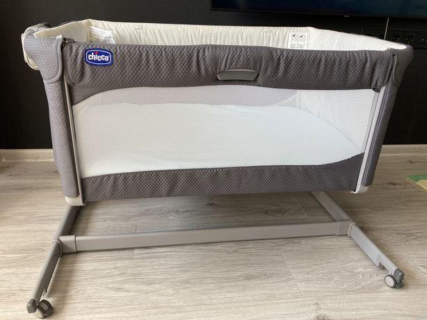 Приставная кроватка-люлька Chicco Next 2me magic + приятный БОНУС