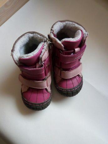 Kozaki/buty zimowe r. 24